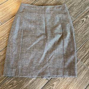 Express Pencil Skirt in Heathered Gray Size 00